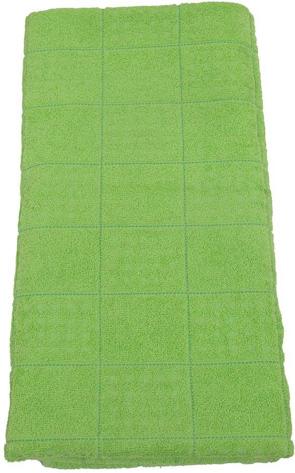 Полотенце махровое НВ Квадро, цвет: зеленый, 65 х 130 см. м1081_0380824