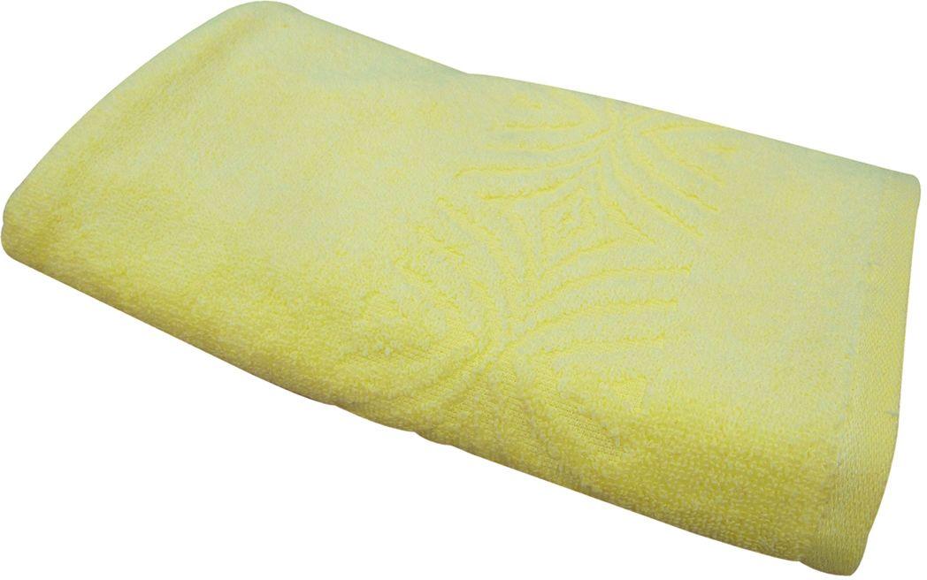 Полотенце махровое ВТ Комфорт, цвет: желтый, 65 х 130 см. м1085_0685497
