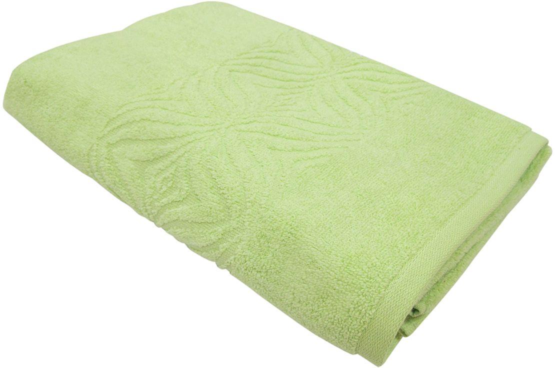Полотенце махровое ВТ Комфорт, цвет: зеленый, 45 х 90 см. м1085_0385500