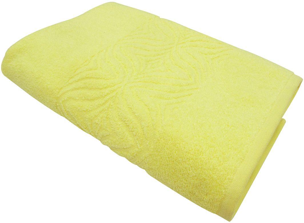Полотенце махровое ВТ Комфорт, цвет: желтый, 45 х 90 см. м1085_0685501