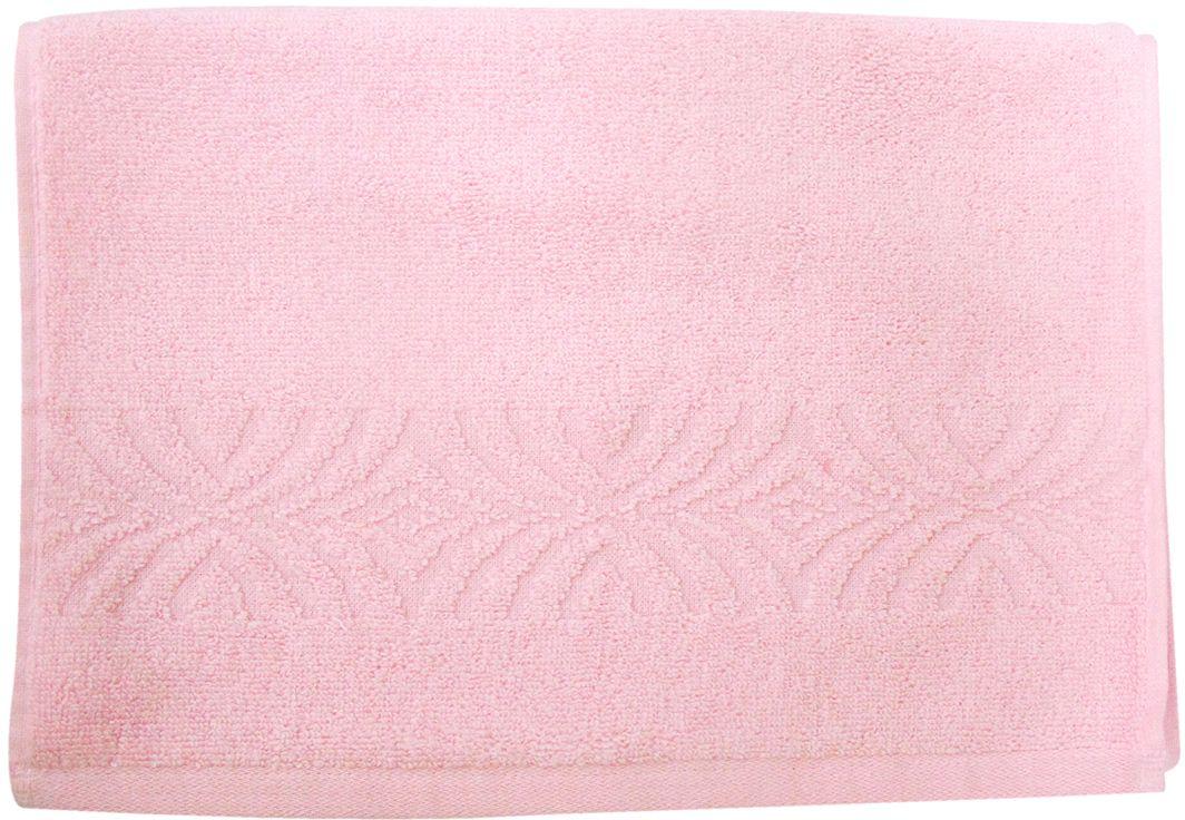 Полотенце махровое ВТ Комфорт, цвет: розовый, 33 х 70 см. м1085_0285503