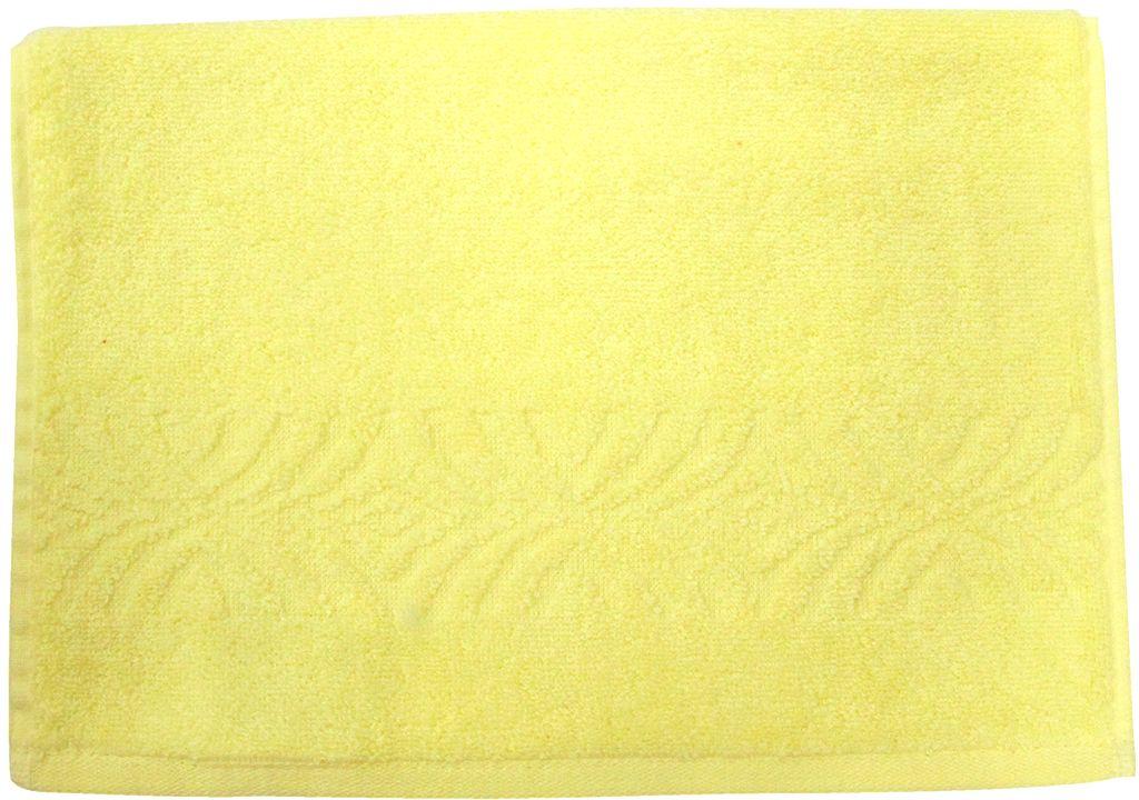 Полотенце махровое ВТ Комфорт, цвет: желтый, 33 х 70 см. м1085_0685505