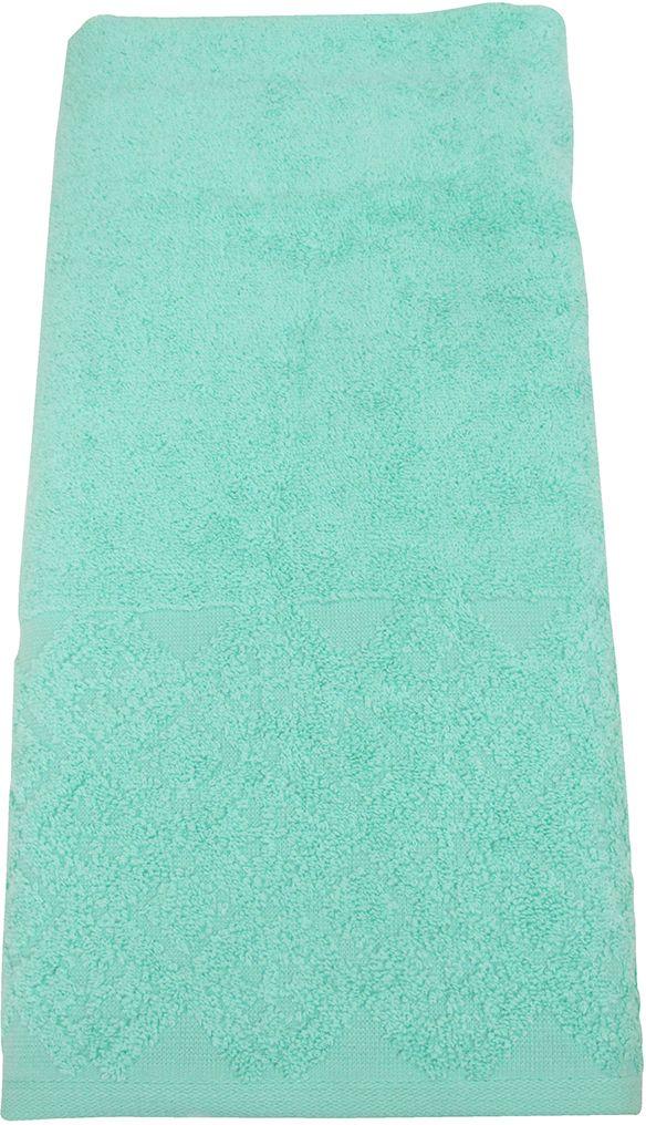 Полотенце махровое ВТ Вдохновение, цвет: аква, 65 х 130 см. м1086_0985506