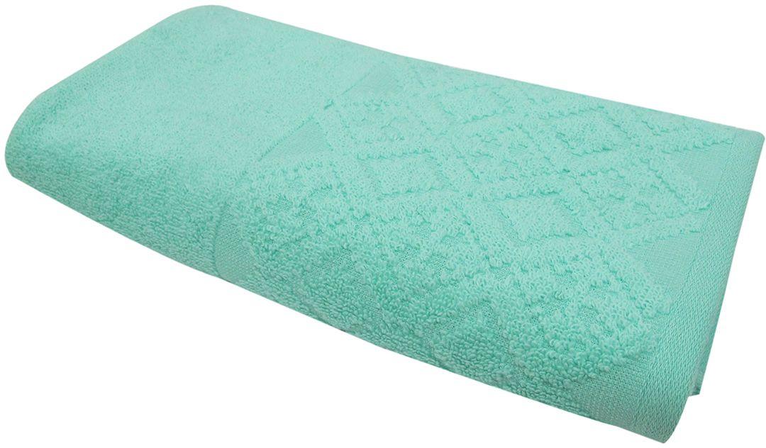 Полотенце махровое ВТ Вдохновение, цвет: аква, 45 х 90 см. м1086_0985509