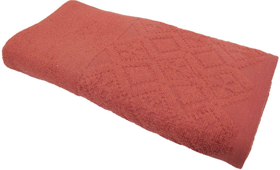 Полотенце махровое ВТ Вдохновение, цвет: терракотовый, 45 х 90 см. м1086_2485511