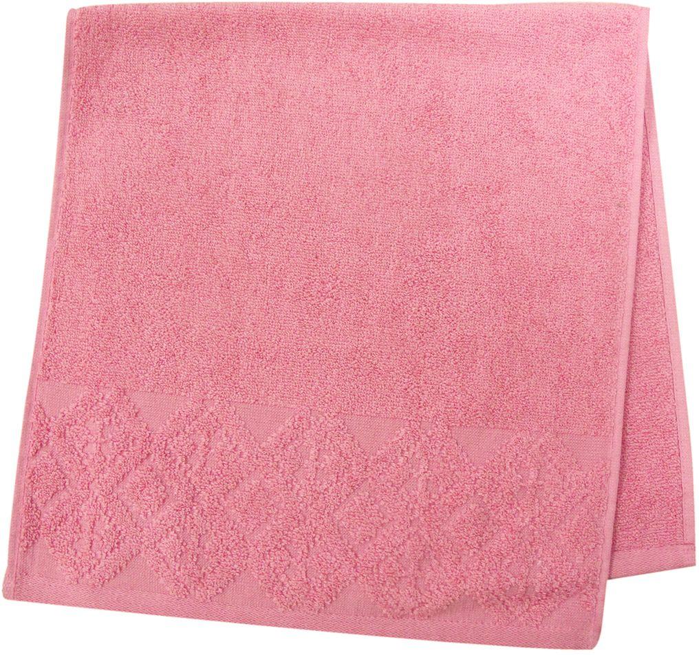 Полотенце махровое ВТ Вдохновение, цвет: персиковый, 33 х 70 см. м1086_1285513