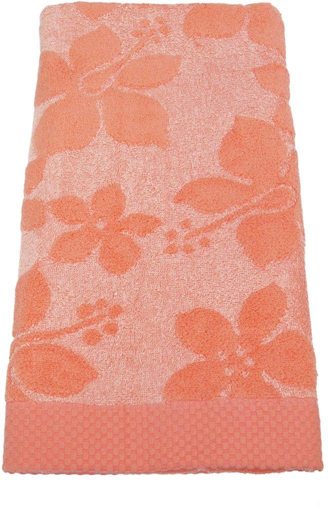 Полотенце махровое НВ Бьянка, цвет: розовый, 70 х 130 см. м0741_0285533