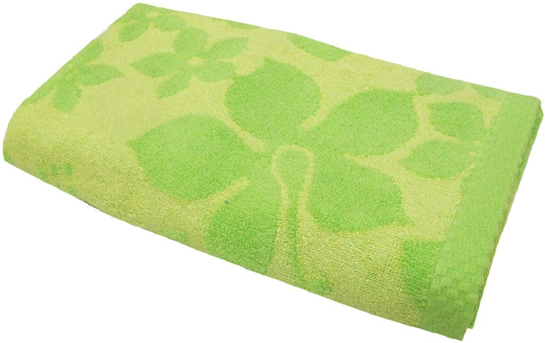 Полотенце махровое НВ Бьянка, цвет: зеленый, 70 х 130 см. м0741_0385534