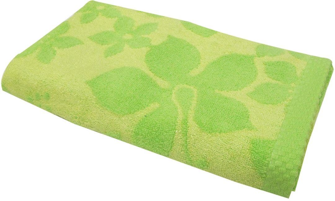Полотенце махровое НВ Бьянка, цвет: зеленый, 50 х 90 см. м0741_0385537