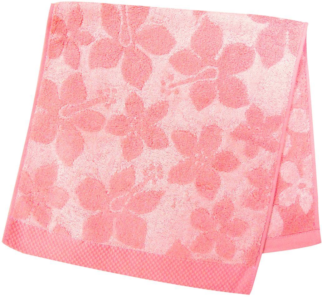 Полотенце махровое НВ Бьянка, цвет: розовый, 33 х 70 см. м0741_0285539