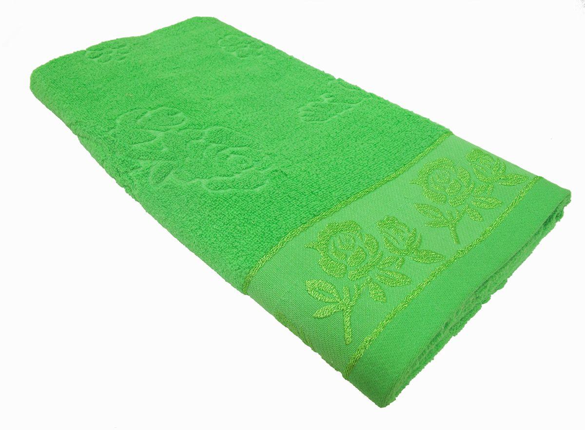 Полотенце махровое НВ Аваланж, цвет: зеленый, 65 х 130 см. м0746_0385581