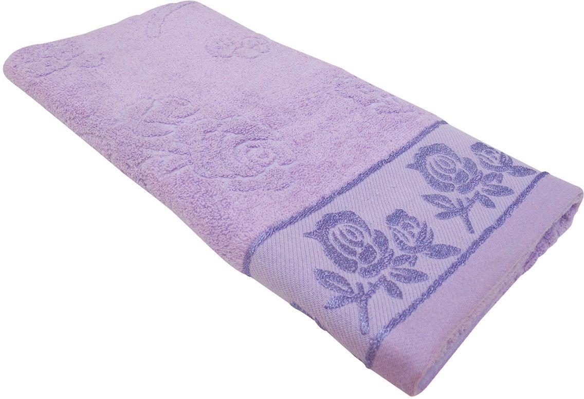 Полотенце махровое НВ Аваланж, цвет: сиреневый, 65 х 130 см. м0746_2285582