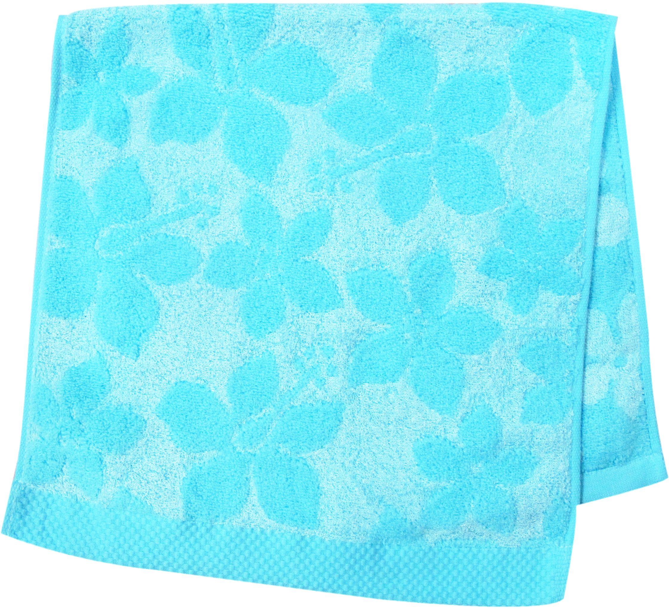 Полотенце махровое НВ Бьянка, цвет: синий, 33 х 70 см. м0741_0185862