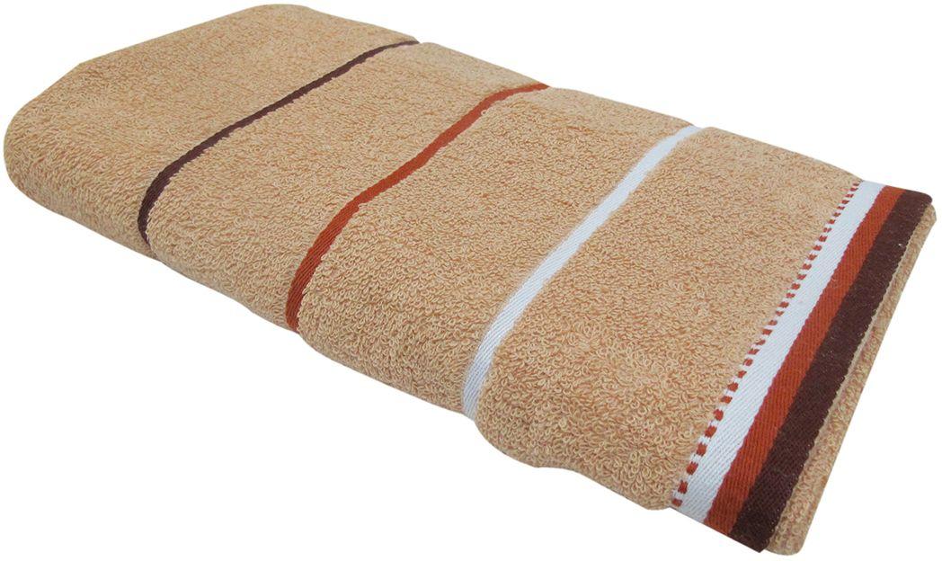 Полотенце махровое НВ Тренд, цвет: бежевый, 50 х 90 см. м0754_0587828