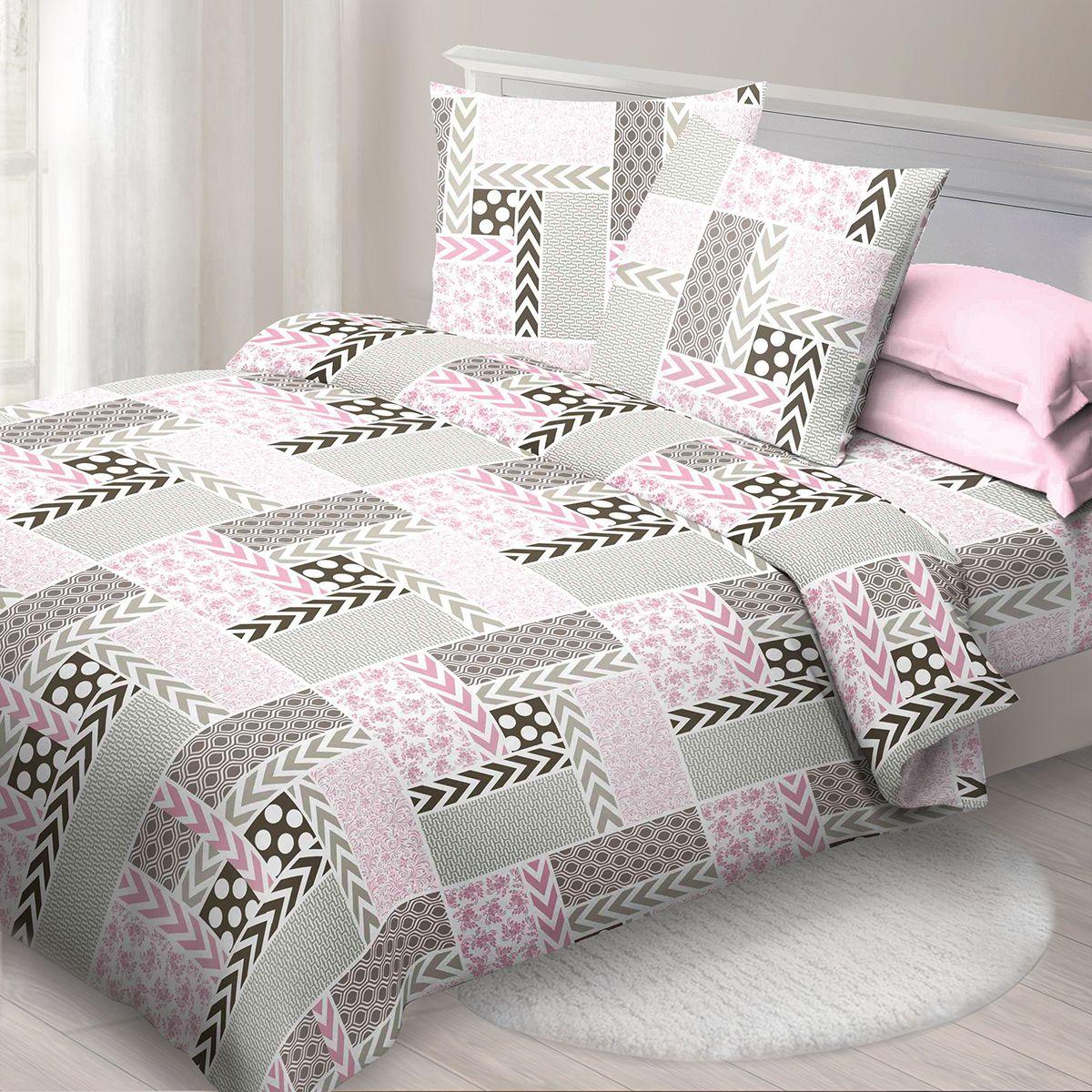 Комплект белья Спал Спалыч Палермо, 2-спальное, наволочки 70x70, цвет: розовый90881Спал Спалыч - недорогое, но качественное постельное белье из белорусской бязи. Актуальные дизайны, авторская упаковка в сочетании с качественными материалами и приемлемой ценой - залог успеха Спал Спалыча! В ассортименте широкая линейка домашнего текстиля для всей семьи - современные дизайны современному покупателю! Ткань обработана по технологии PERFECT WAY - благодаря чему, она становится более гладкой и шелковистой. • Бязь Барановичи 100% хлопок • Плотность ткани - 125 гр/кв.м.