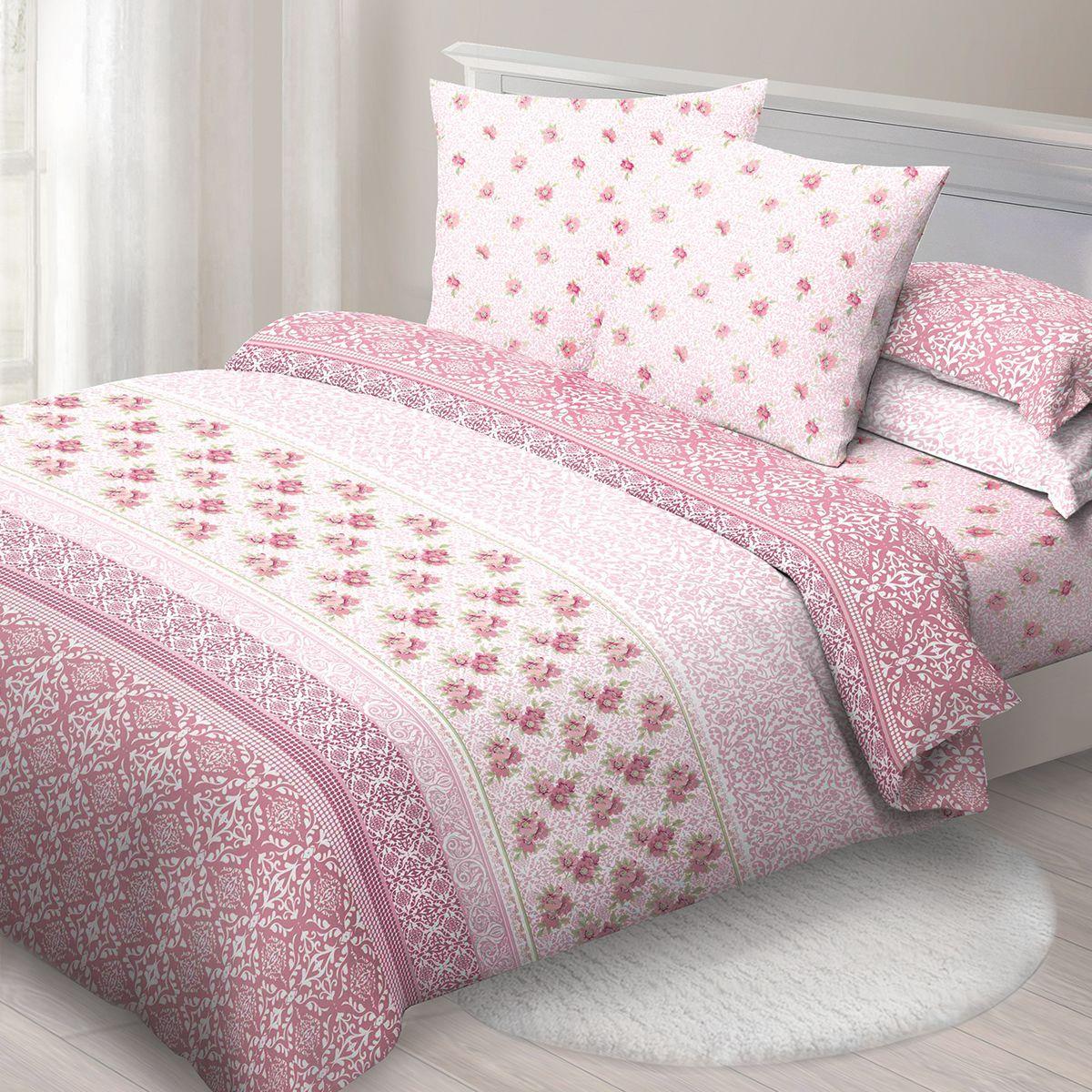 Комплект белья Спал Спалыч Нежное утро, 2-спальное, наволочки 70x70, цвет: розовый90901Спал Спалыч - недорогое, но качественное постельное белье из белорусской бязи. Актуальные дизайны, авторская упаковка в сочетании с качественными материалами и приемлемой ценой - залог успеха Спал Спалыча! В ассортименте широкая линейка домашнего текстиля для всей семьи - современные дизайны современному покупателю! Ткань обработана по технологии PERFECT WAY - благодаря чему, она становится более гладкой и шелковистой. • Бязь Барановичи 100% хлопок • Плотность ткани - 125 гр/кв.м.