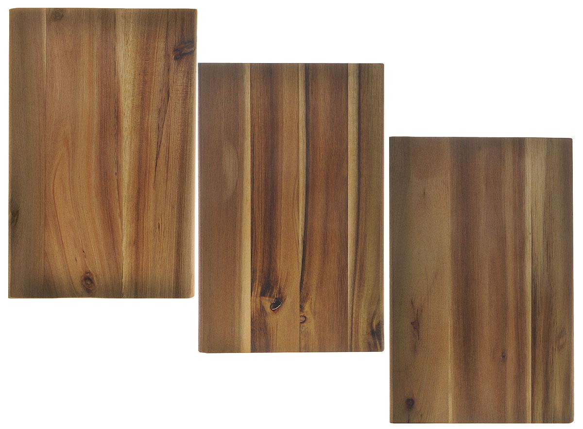 Доска разделочная Kesper, бамбуковая, 15 х 23 х 1 см, 3 шт2340-3Небольшие разделочные доски Kesper изготовлены из высококачественной древесины бамбука, обладающей антибактериальными свойствами. Бамбук - инновационный материал, идеально подходящий для разделочных досок. Доски из бамбука обладают высокой плотностью структуры древесины, а также устойчивы к механическим воздействиям. Функциональные и простые в использовании, разделочные доски Kesper прекрасно впишутся в интерьер любой кухни и прослужат вам долгие годы. Размер доски: 15 см х 23 см х 1 см.