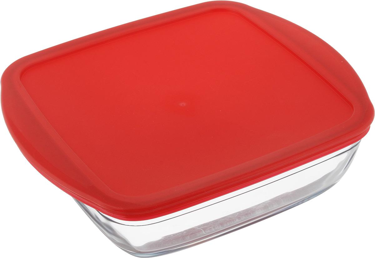 Форма для выпечки Pyrex Ocuisine, квадратная, с крышкой, 25 см х 22 см212PC00Форма Pyrex Ocuisine изготовлена из прозрачного жаропрочного стекла. Непористая поверхность исключает образование бактерий, великолепно моется. Изделие идеально подходит для приготовления в духовом шкафу. Выдерживает перепад температур от -40°C до +300°C. Форма Pyrex Ocuisine подходит для использования в микроволновой печи, приготовления блюд в духовке, хранения пищи в холодильнике. Можно мыть в посудомоечной машине. Размер формы (по верхнему краю): 25 см х 22 см. Высота формы: 7 см.