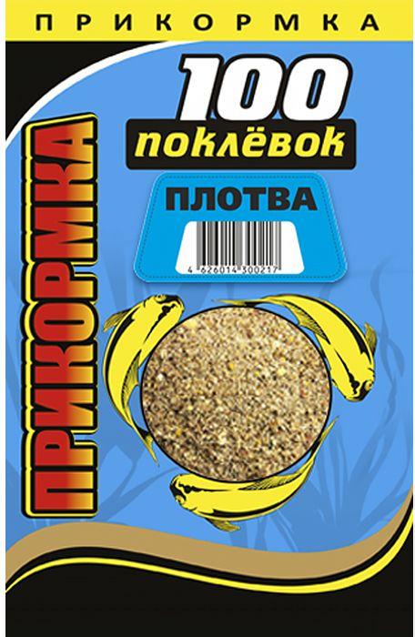 Прикормка 100 Поклевок, плотва, 900 г0057025Прикормка для плотвы 100 Поклёвок - прикормочный состав, разработанный для ловли стайных рыб в придонном слое воды. Окрашенная натуральными компонентами в темный цвет, прикормка не выделяется на фоне дна. Наличие в составе таких активных частиц с эффектом лифтинга, как кокосовая стружка и смесь орехов, позволяет создать столб в толще воды с постоянно всплывающими и тонущими частицами, что сильно привлекает плотву. Прикормка универсальна. Её можно использовать на реках, каналах с медленным течением, а также в водоемах со стоячей водой.