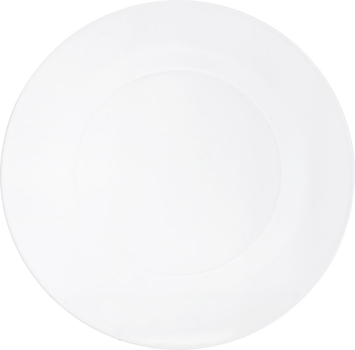 Тарелка обеденная OSZ Симпатия, диаметр 25 см16C1886Тарелка обеденная OSZ Симпатия выполнена из стекла. Диаметр тарелки (по верхнему краю): 25 см.