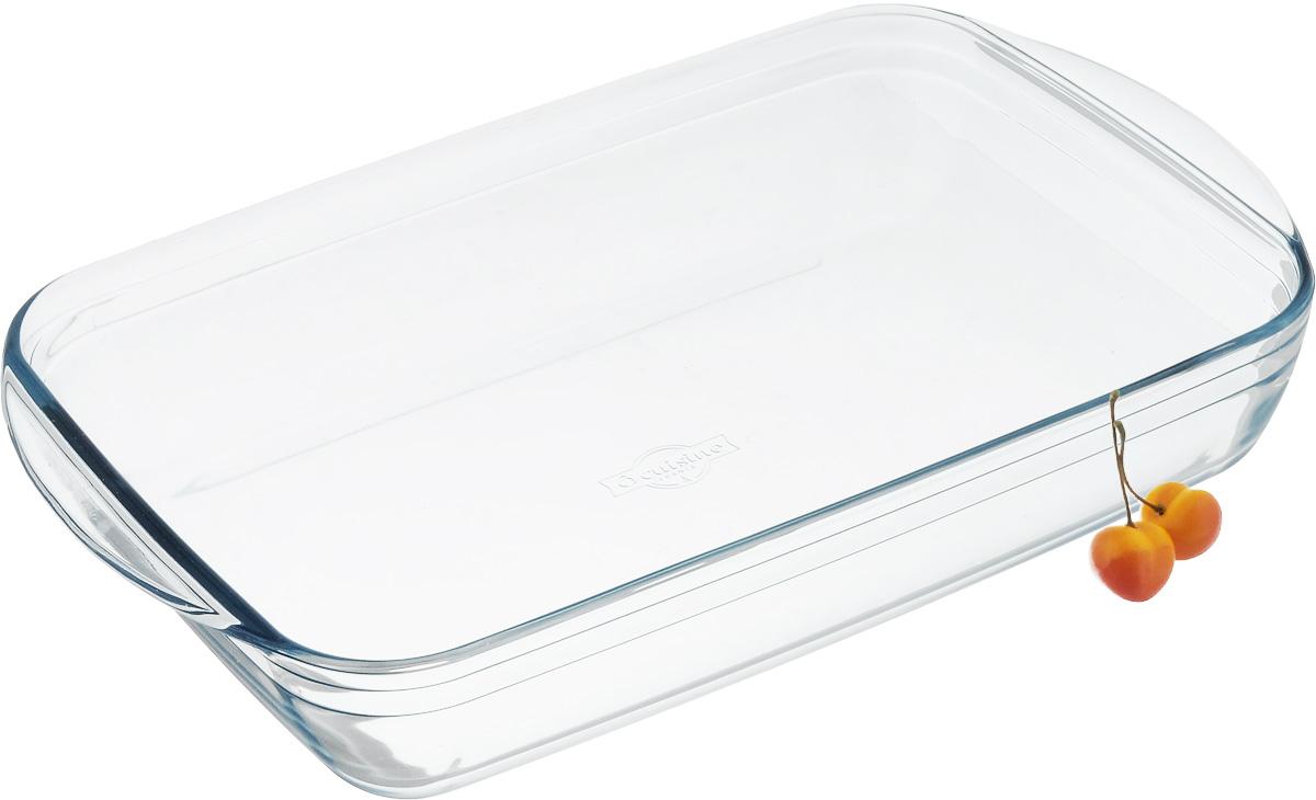 Форма для выпечки Pyrex Ocuisine, прямоугольная, 40 см х 27 см240BC00Форма для запекания Pyrex Ocuisine изготовлена из прозрачного жаропрочного стекла. Непористая поверхность исключает образование бактерий, великолепно моется. Изделие идеально подходит для приготовления в духовом шкафу. Выдерживает перепад температур от -40°C до +300°C. Форма подходит для использования в микроволновой печи, приготовления блюд в духовке, хранения пищи в холодильнике. Можно мыть в посудомоечной машине. Размер формы (по верхнему краю): 40 см х 27 см. Высота формы: 7 см.