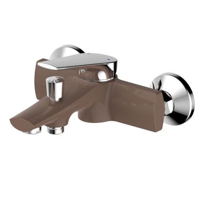 Смеситель для ванны РМС, с коротким изливом. SL122BW-009. Цвет: шоколадный, золотистыйSL122BW-009Смеситель для ванны с коротким литым изливом Картридж: керамический 35 мм Переключение на душ: штоковое Аэратор: пластиковый Цвет покрытия корпуса: черный+золото В комплекте: эксцентрики, отражатели, металлический шланг для душа 1,5 м, лейка для душа
