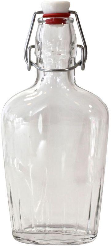 Бутылка Einkochwelt, с крышкой, 250 мл358107Стеклянная бутылка объемом 250 мл с пробкой и зажимом предназначена для хранения и консервации соков, сиропов и других домашних напитков. Зажим обеспечит герметичность сосуда, что надежно сохранит свежесть и качество ашего продукта. Оригинальная форма бутылки позволит ей стать не только полезным изделием, но и украшением интерьера вашей кухни.