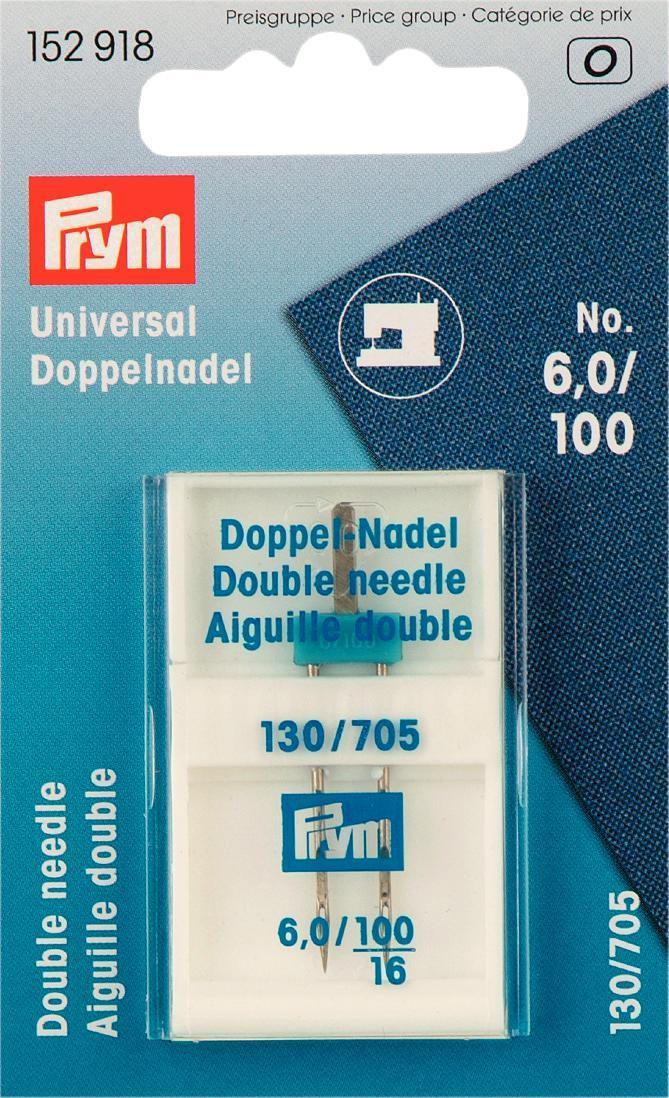 Игла для швейных машин Prym, для двойных строчек, №100152918
