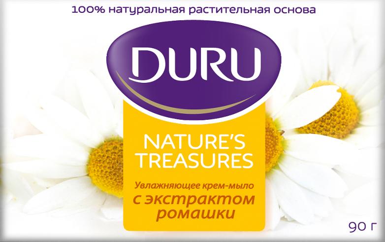 Duru Nature's Treasures Мыло Ромашка 90г