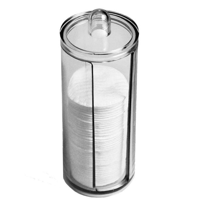 Диспенсер для ватных дисков Beauty Logic, 19 х 7,5 см0910-0-9799Обеспечивает комплексный эффект: сохраняет чистоту материала; делает процесс хранения ватных дисков максимально удобным; размер: 19?7.5 см.