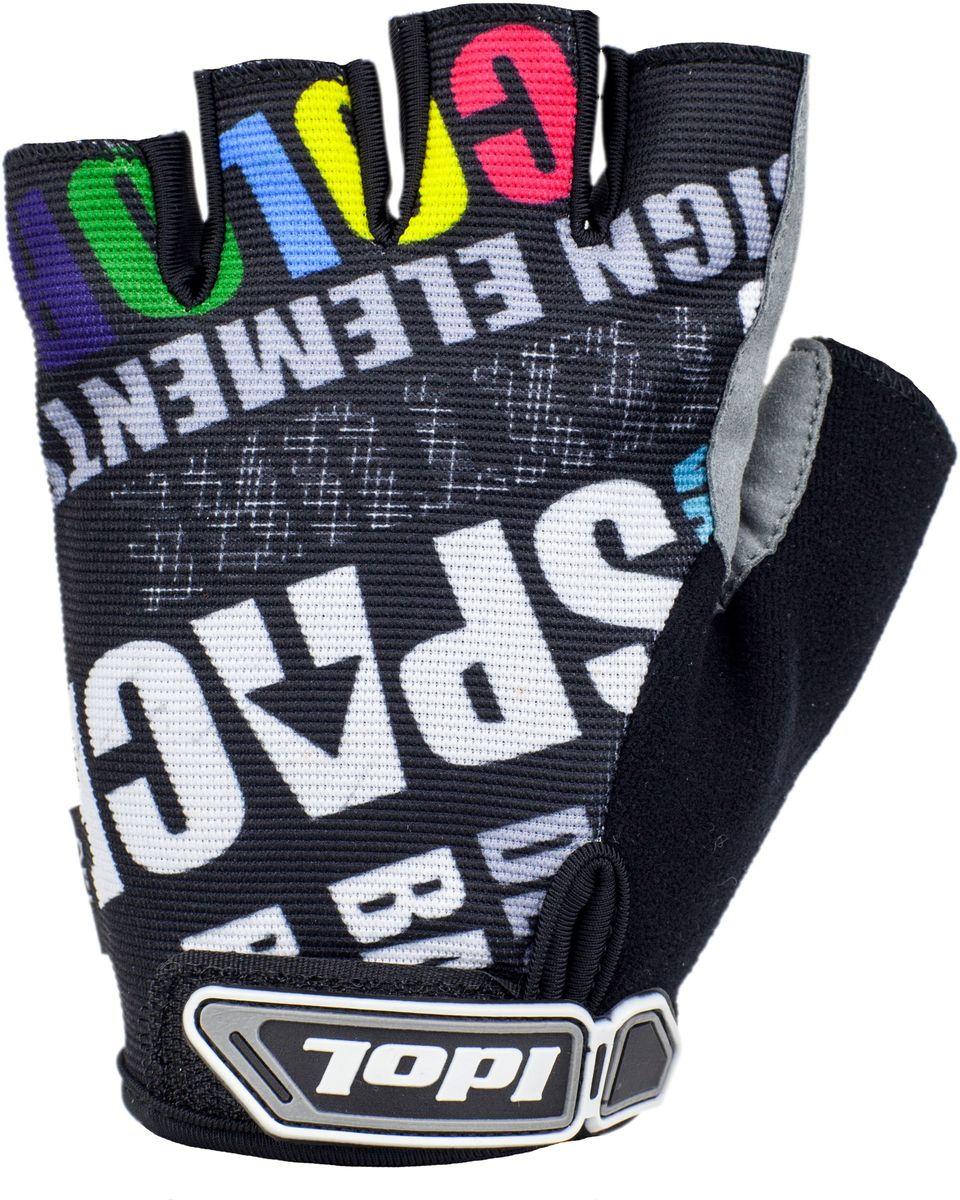 Перчатки велосипедные Idol Ramsau, цвет: серый. Размер S2712Велосипедные перчатки Idol, RAMSAU 2712 предназначены для велоспорта, велотуризма, велосипедных прогулок. Линия ХС - Открытые пальцы - Верх: высококачественный материал 4-way stretch повышенной дышимости - Ладонь: синтетическая кожа Amara - Гелевая вставка на ладони - Влагоотводящий материал на большом пальце - Веревочные петли для снимания - Липучка для фиксации перчатки на руке Высокое качество материалов, стильный дизайн, функциональность и прочность выделяют велоперчатки Idol среди прочих.