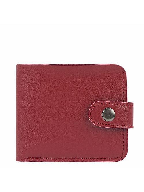 Кошелек Kawaii Factory, цвет: красный. KW057-000628KW057-000628Классический складной кошелек от Kawaii Factory, изготовленный из экокожи, прекрасно впишется в любой стиль. Он оснащен одним отделением для купюр, прорезными кармашками для карточек. Аксессуар поместится даже в миниатюрную сумочку. Кошелек на застежке-кнопке отличается строгим эргономичным дизайном и универсальностью.