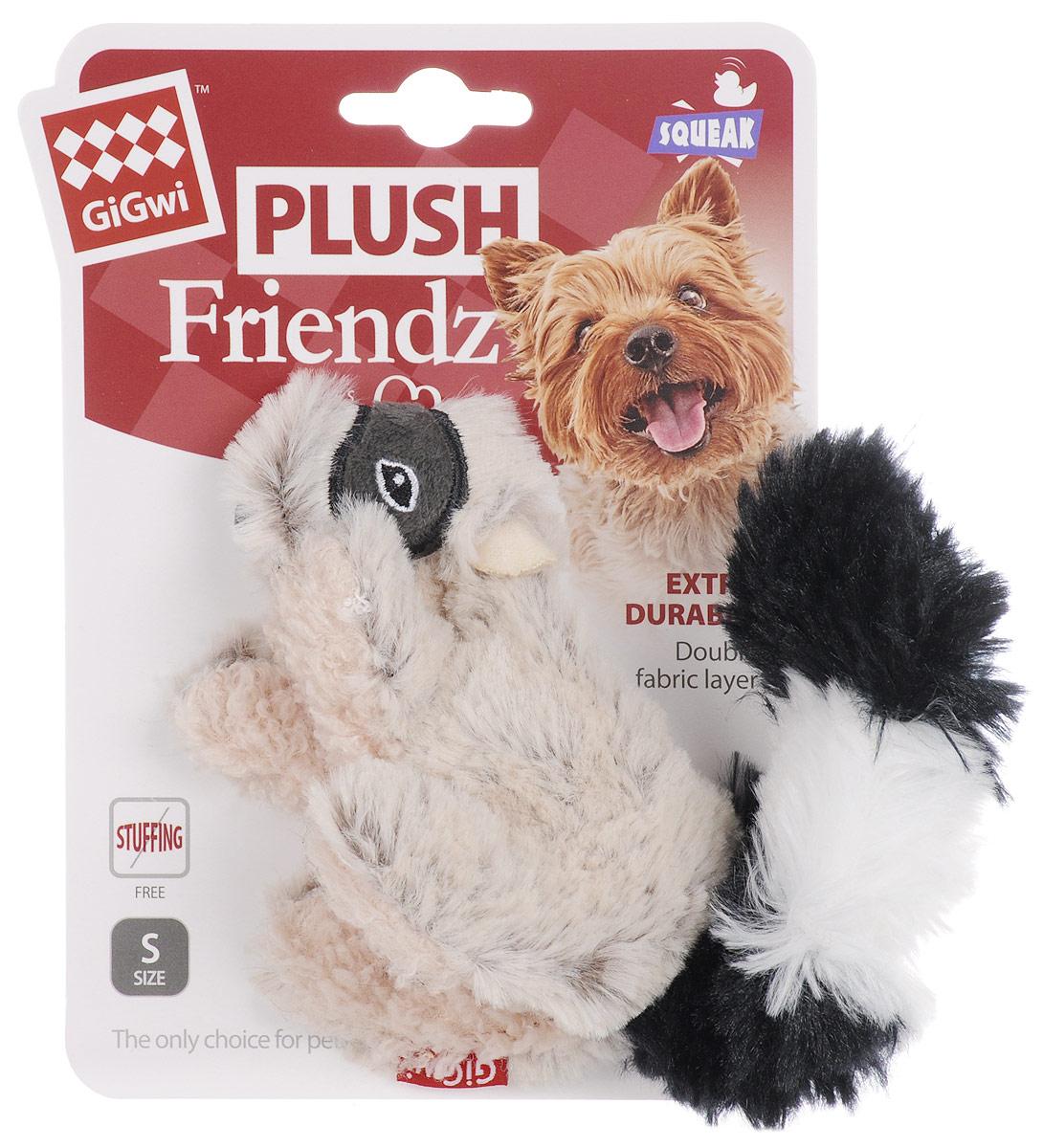 Игрушка для собак GiGwi Енот, с пищалкой, длина 16 см75307Игрушка для собак GiGwi Енот порадует вашу собаку и доставит ей море веселья. Несмотря на большое количество материалов, большинство собак для игры выбирают классические плюшевые игрушки. Такие игрушки можно носить, уютно прижиматься во сне, жевать. Некоторые собаки просто любят взять в зубы игрушку и ходить с ней повсюду. Мягкие игрушки сохраняют запах питомца, поэтому он каждый раз к ней возвращается. Милые, мягкие и приятные зверушки характеризуются высоким качеством исполнения и привлекательным дизайном. Внутри игрушки нет наполнителя, что поможет сохранить чистоту в помещении. Игрушка снабжена пищалкой, которая привлекает внимание животного.