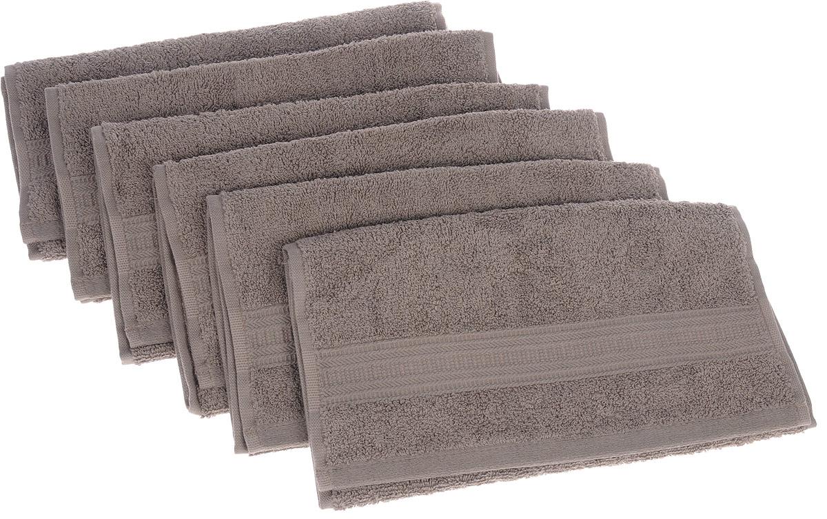Набор полотенец TAC Mix and sleep, цвет: кофейный, 30 х 50 см, 6 шт12245Набор TAC Mix and sleep состоит из шести полотенец, выполненных из натуральной махровой ткани (100% хлопка). Изделия отлично впитывают влагу, быстро сохнут, сохраняют яркость цвета и не теряют формы даже после многократных стирок. Полотенца TAC Mix and sleep очень практичны и неприхотливы в уходе. Такой набор послужит приятным подарком.