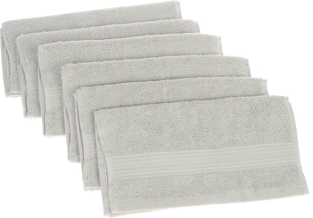 Набор полотенец TAC Mix and sleep, цвет: серо-бежевый, 30 х 50 см, 6 шт1200Полотенца ТАС Приятно удивляют и дают возможность почувствовать себя творцом окружающего декора. Махровая ткань – официальное название «фроте», народное – «махра». Фроте – это натуральная ткань, поверхность которой состоит из ворса (петель основных нитей). Ворс может быть как одинарным (односторонним), так и двойным (двусторонним).