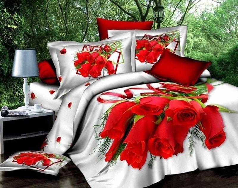 Комплект белья МарТекс, 1,5-спальный, наволочки 50х70. 01-0033-101-0033-1