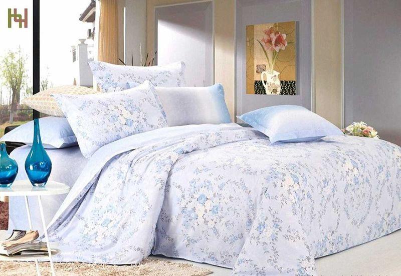 Комплект белья МарТекс Иней, 1,5-спальный, наволочки 50х70. 01-0514-101-0514-1