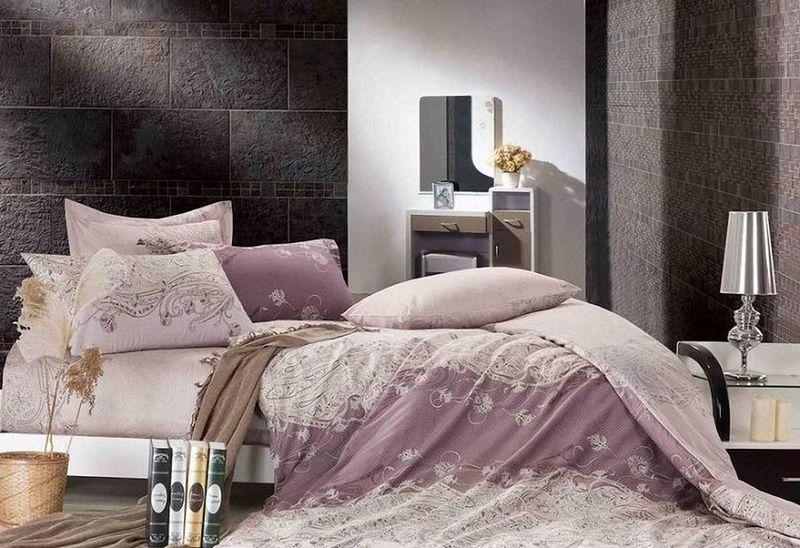 Комплект белья МарТекс Ирэн, 1,5-спальный, наволочки 50х70. 01-0524-101-0524-1