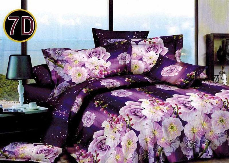 Комплект белья МарТекс Фентази, 2-спальный, наволочки 70х70. 01-1108-201-1108-2