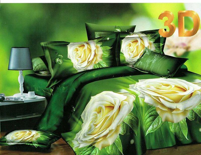 Комплект белья МарТекс Карина, 2-спальный, наволочки 70х70. 01-1176-201-1176-2