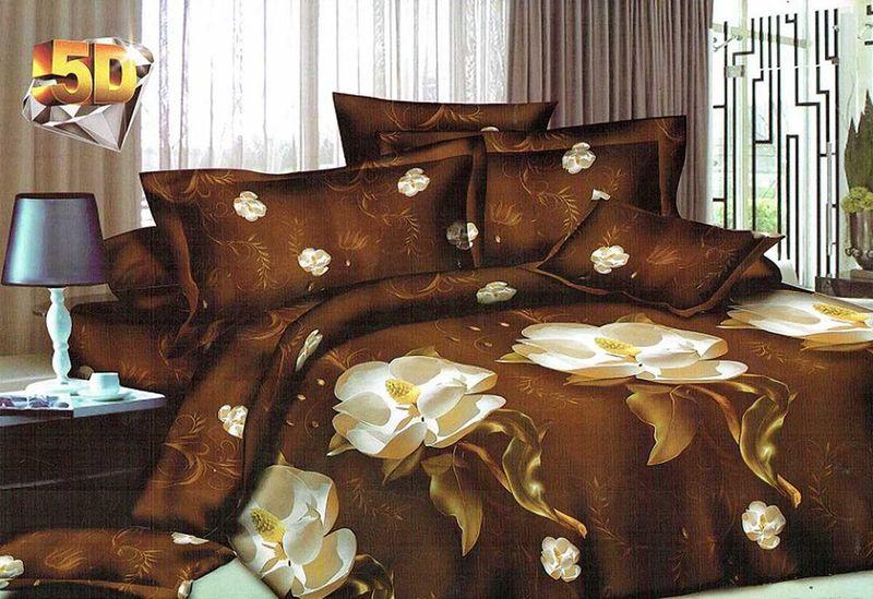 Комплект белья МарТекс Дроми, 1,5-спальный, наволочки 70х70. 01-1181-101-1181-1