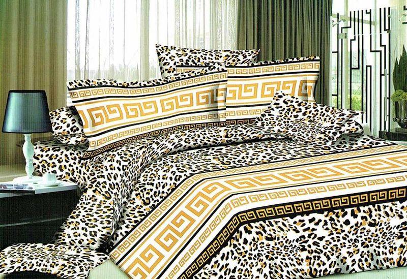 Комплект белья МарТекс Огита, евро, наволочки 50х70, 70х70. 01-1200-3DAVC150Комплект постельного белья МарТекс Огита, выполненный из микрополиэстера, состоит из пододеяльника, простыни и четырех наволочек. Изделия оформлены оригинальным рисунком. Такой комплект подойдет для любого стилевого и цветового решения интерьера, а также создаст в доме уют. Приобретая комплект постельного белья МарТекс, вы можете быть уверенны в том, что покупкадоставит вам и вашим близким удовольствие и подарит максимальный комфорт.