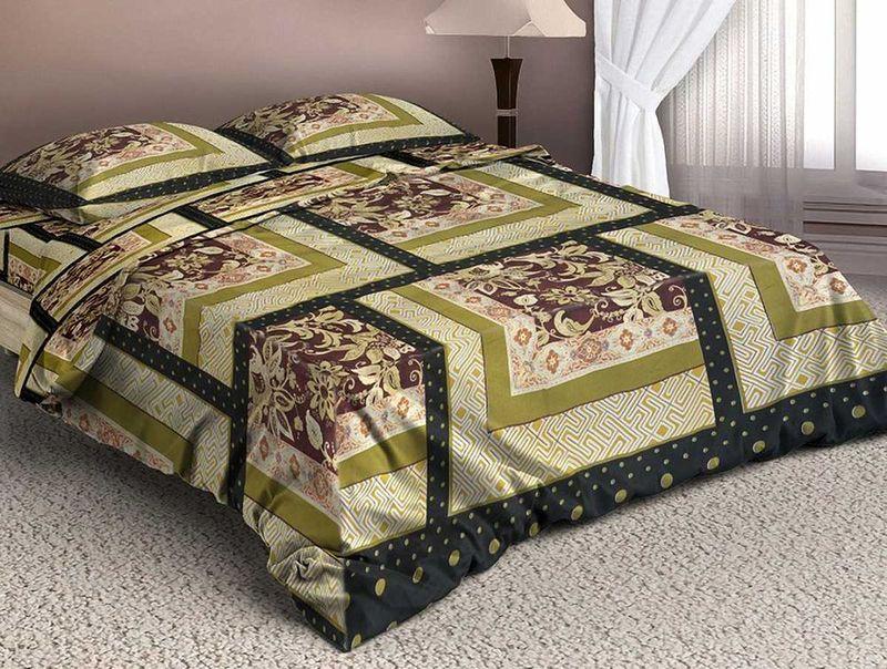 Комплект белья МарТекс Белат, 1,5-спальный, наволочки 70х70. 01-1332-101-1332-1