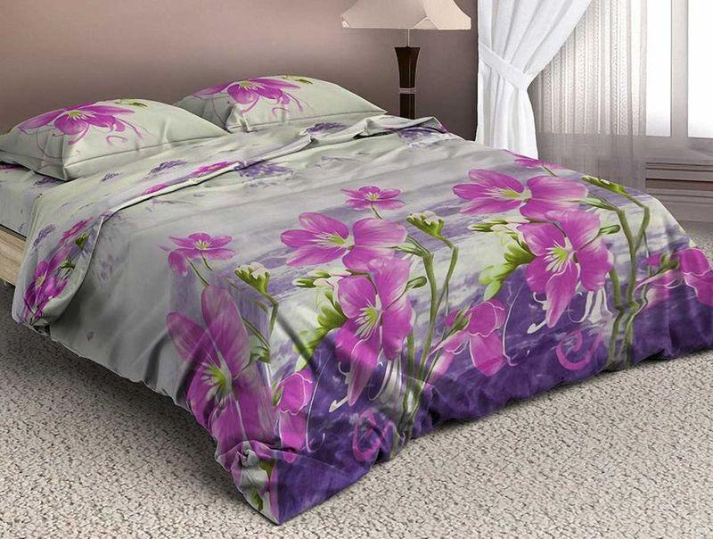 Комплект белья МарТекс Гализ, 2-спальный, наволочки 70х70. 01-1346-201-1346-2