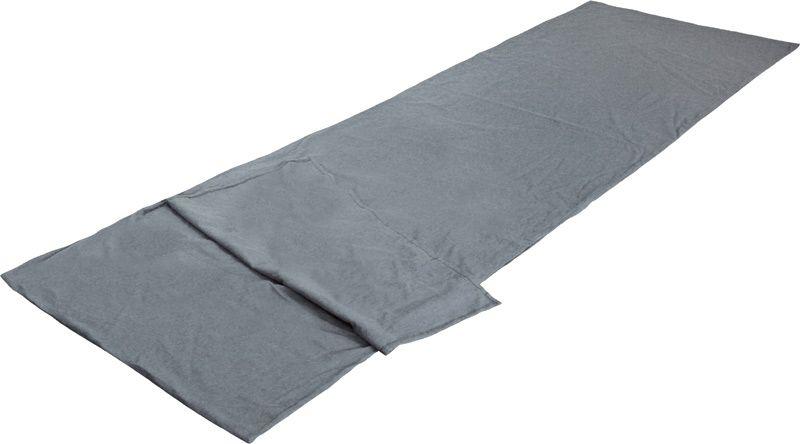 Вставка в спальный мешок High Peak TC Inlett Travel, цвет: серый, 225 х 80 см. 235270-70-648Вкладыш High Peak TC Inlett Travel используется со спальным мешком-одеялом. Он изготовлен из смесовой ткани, состоящий на 80% из полиэстера и на 20% из хлопка. Легко стирается и быстро сохнет.В комплект входит мешок для хранения, изготовленный из синтетического материала.