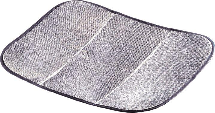 Коврик-сидушка High Peak Alukissen, цвет: алюминиевый, черный, 35 х 45 х 0,2 см, 2 штTRI-015Теплоизолирующий коврик-сидушка High Peak Alukissen предназначен для отдыха на природе. Верх и низ изделия выполнены из полиэтиленовой пены и алюминиевой пленки, наполнитель - вспененный полиэтилен.