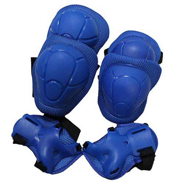Комплект защиты локтя, запястья, колена Action ZS-100. Размер SCRL-1Основные характеристикиКомплектность: наколенник - 2 шт., налокотник - 2 шт., наладонник - 2 шт.Размер: S (соответствует размерам коньков 31-36)Материалы: основа - нейлон, защитные накладки - поливинилхлоридЦвет: синийВид использования: любительское катание на роликовых коньках Страна-производитель: КитайУпаковка: полиэтиленовый пакет с европодвесомНаиболее распространенной является тройная защита – наколенники, налокотники и наладонники со специальными пластинами на запястьях. Такой набор защиты для катания на роликовых коньках считается оптимальным, предохраняя от травм самые уязвимые места при катании.