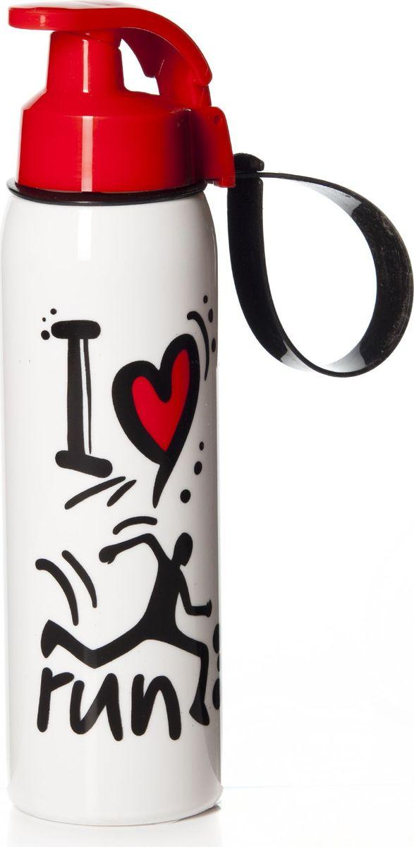 Бутылка Pasabahce, 500 мл. 161415-010VT-1520(SR)Бутыль спортивная с ручкой 6*6*23 см