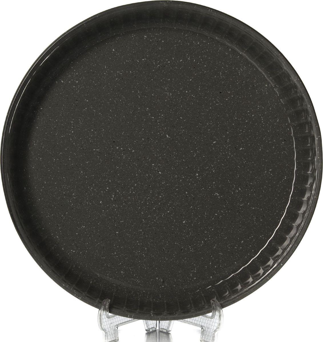 Посуда для СВЧ Pasabahce, диаметр 32 см. 59014DGR300194_сиреневый/грушаПосуда для СВЧ круглая d=320 мм цветное стекло (1073106)