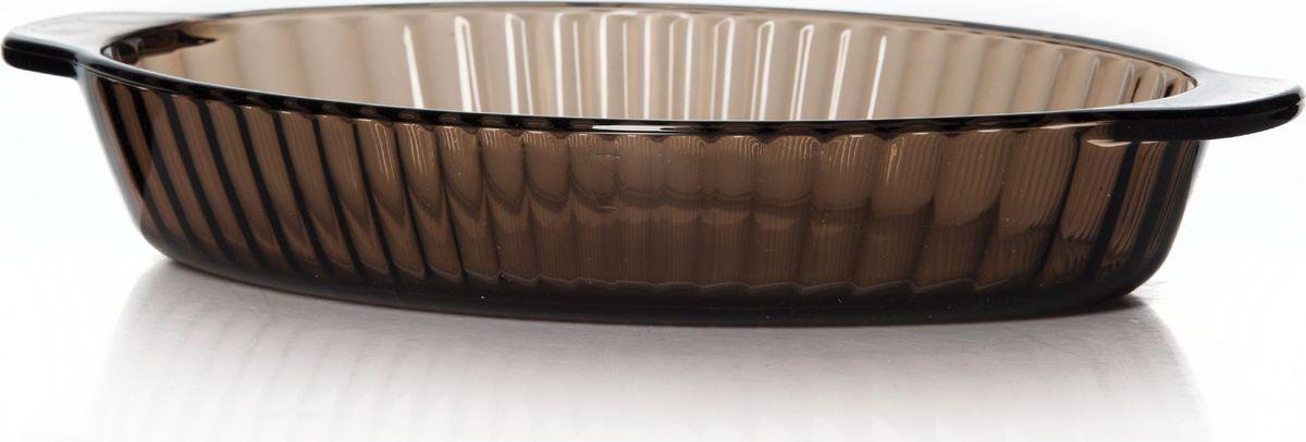 Посуда для СВЧ Pasabahce. 59724BR59724BRПосуда для СВЧ овальная цветное стекло